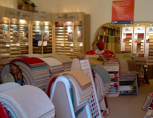 Welcome To The Carpet Shop Westbury Park